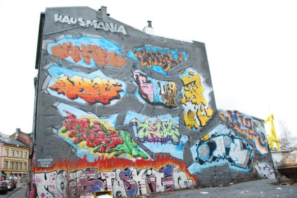 Vi holder til å Hausmania, Hausmannsgate 34 i Oslo